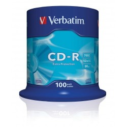 CD - R VERBATIM  (spindl 100 ks)