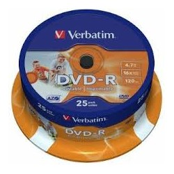 DVD - R VERBATIM  (spindl 25 ks)