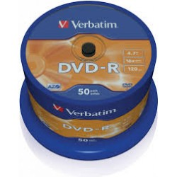 DVD - R VERBATIM  (spindl 50 ks)