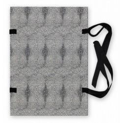 Desky s tkanicí – hadí kůže A3