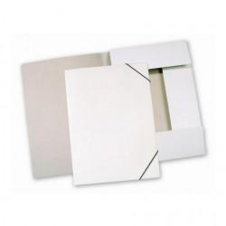 Mapa 3 chlopně - bílý karton