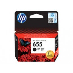 Cartridge HP 655 černá CZ109AE
