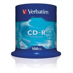 CD - R VERBATIM  (spindl 100 ks)