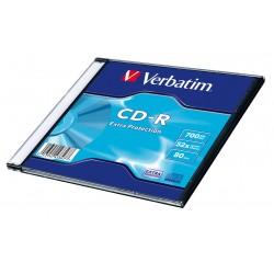 CD - R VERBATIM  + slim krabička (10 ks)