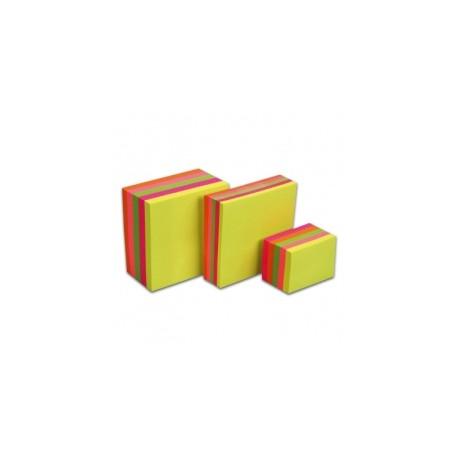 Samolepící bloček NEON TIX 75 x 75 mm/450 lístků