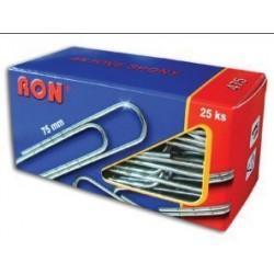 Dopisní (aktová) spona RON  75 mm