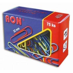 Dopisní spona RON barevná 32 mm