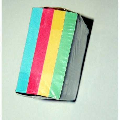 Samolepící bloček PASTEL 75 x 75 mm/4x100 lístků