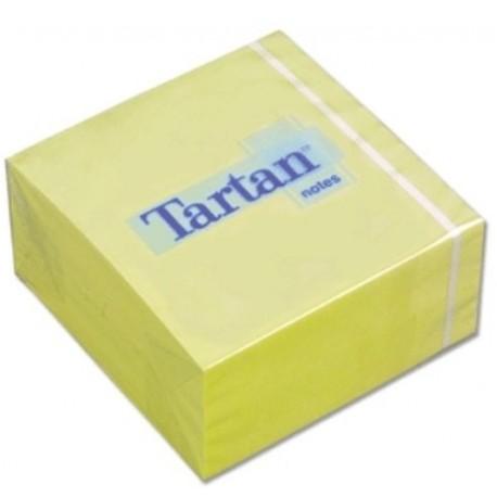 Samolepící bloček žlutý 75 x 75 mm/400 lístků