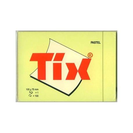 Samolepící bloček žlutý 76 x 126 mm/100 lístků