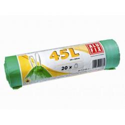Pytle na odpad ALUFIX zatahovací 120l/10ks