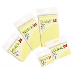 Samolepící bloček žlutý 51 x 38 mm/100 lístků
